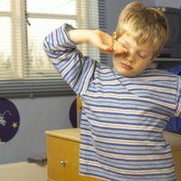 Hva gjør du når Skole barnet blir opp midt på natten?