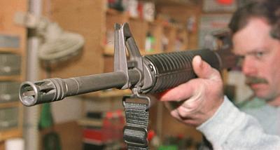 Hvordan å rette en feil på en AR stil Rifle