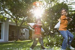Er Organic Lawn Care trygt for barna?