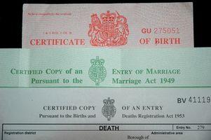 Hvordan få et klarere kopi av fødselsattest