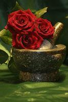 Blomster brukt i brudebuketter