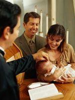 Vann Globe Baptism / Dåp Gaver til en niese