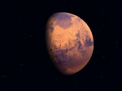 Pyramids of Elysium på Mars