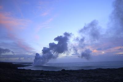 Hva er typer utbrudd fra mest til minst destruktiv?