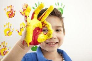 Barne Handprints Aktiviteter