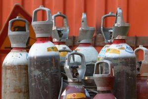 Laboratorie CO2 gass tank Størrelser