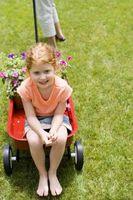 Hvordan lage en Flower Girl Wagon for et bryllup
