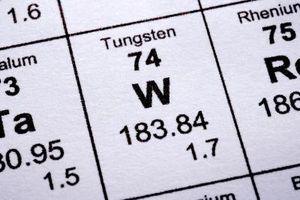Hvilken type binding oppstår i Tungsten?