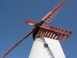 Hvordan kan jeg bygge en enkel vindmølle?