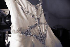 Hvordan å fly med en brudekjole