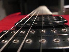 Hvordan lage din egen gitar Flash Game