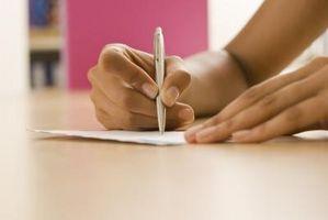 Hvordan skrive en kryptografisk Letter