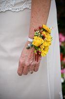 Håndverk for en Wedding Corsage