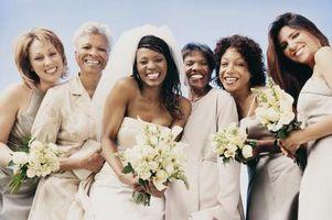 Blir Mødre av bruden og brudgommen skal bære de samme fargene i bryllupet?