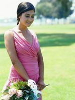 Hvordan Design din egen sjokolade, Aqua & Ivory Wedding kjoler og brudepike kjoler