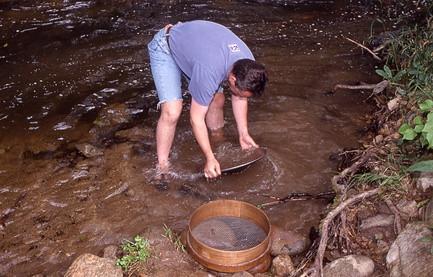 De beste elvene for å panorere for gull i Utah