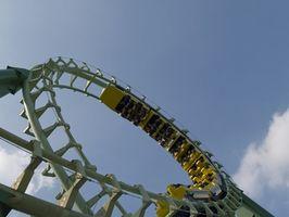 Hvordan bygge en modell Roller Coaster