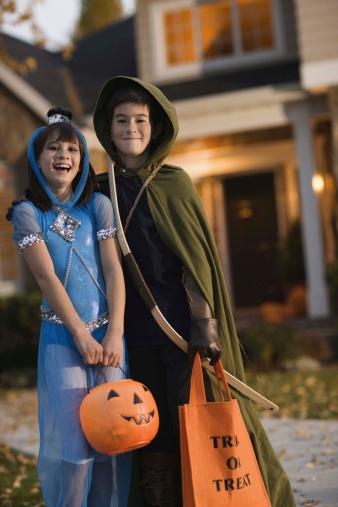 Halloween race spill