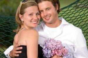 Blomster sjelden brukt i bryllup