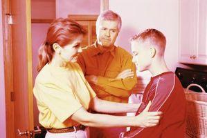 Hvordan Tenåringer Svar på Punishment