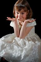 Barne brudepike frisyrer