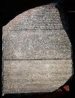 Vitenskapelige områder knyttet til Rosetta Stone