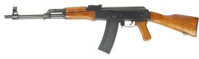 Hvordan Endre Stock på en SKS Rifle