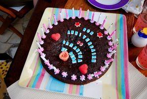 Funny Do-It-Yourself Birthday Cake Ideer