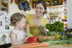 Mat Ideer for småbarn med en klype Allergi