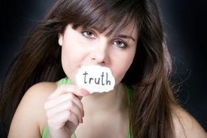 Hvordan finne ut om noen forteller sannheten?