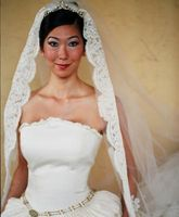 Hvordan Reset en Antique Wedding Veil