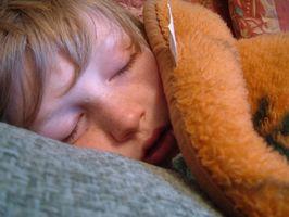 Hvordan å trøste en baby med influensa