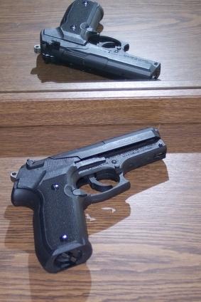 Hvordan ta fra hverandre en P99 Spring Airsoft Gun