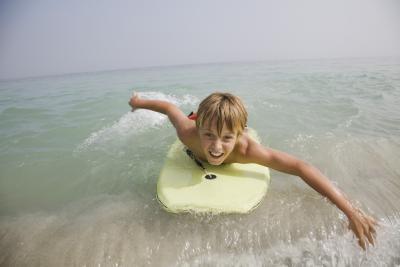 Hvordan Stand Up på en Bodyboard spill