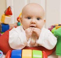 Hvordan lære former og farger til spedbarn