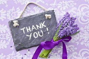 Hvordan å si takk