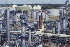 Produksjon av petrokjemiske produkter