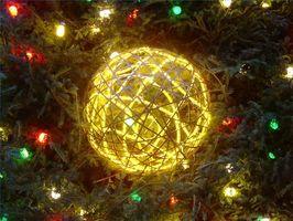 Juletre belysning ideer