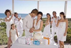 Dekorasjon ideer for en flott og dyrt bryllup