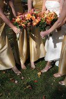 Unge brudepike gaver