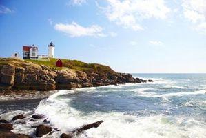 Landformer i Maine