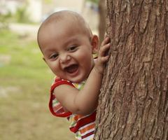 Objekt permanens spill for barn