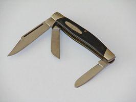 Hvordan fortelle om en lommekniven Er Antique?