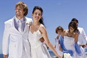 Hvordan å koordinere bryllupet farger for å matche Bryllupsutstyr Party