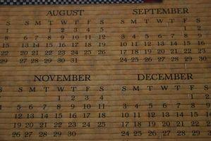 Hvordan beregne forskjellen mellom datoer