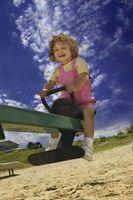 Hvordan lage et utendørs miljø Tilpasningsdyktig til småbarn
