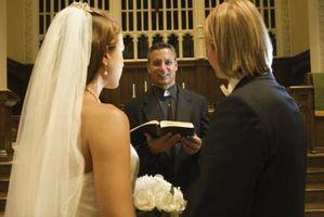 Hvordan Gi en ekteskaps Sermon