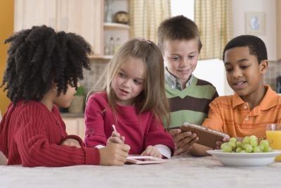 Bibelen Games for Kids som lærer Sharing