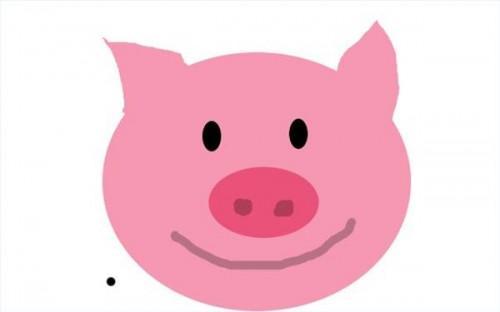 Cake dekorasjon ideer for de tre små grisene