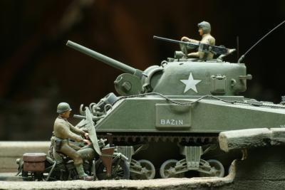 Ideer for en militær Groom Cake